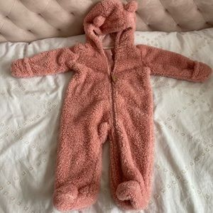 Carters Sherpa Bunting and Hat & Mittens Set (9m)